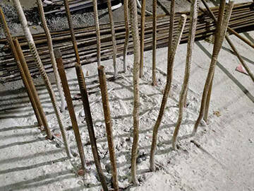 Chongming County swimming pool reinforcement